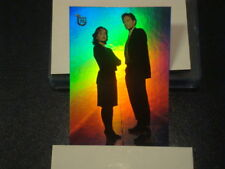 """2013 TOPPS 75TH ANNIVERSARY """"THE X-FILES"""" RAINBOW FOIL PARALLEL CARD #100 NEW"""