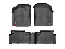 WeatherTech FloorLiner Mats for Toyota Tundra Access Cab- 2005-2006 - Black
