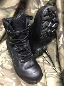 Genuine British Issue Black High Liability Haix Boots!grade 1! Size 5 Medium