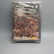 Vostroyan command squad  Warhammer 40K Games Workshop imperial guard metal box