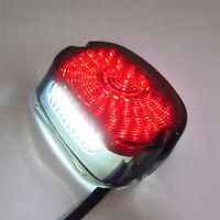 HTTMT Smoke LED Tail Light For Harley Davidson Touring Softail Dyna Sportster