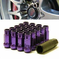 For Honda Toyota Acura Lexus Purple 12X1.5MM Wheel Rim Racing Lug Nuts Bolts x20