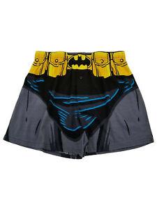 NEW DC Batman Adult Men/'s Boxer Shorts Underwear Novelty Superhero Retro Boxers