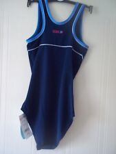 Ladies Boots Performance Body Shaping Swimming Costume Navy Size 12