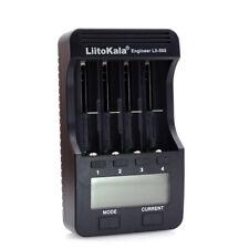 LiitoKala Lii-500 4 Slots Smart intelligentes Ladegerät für 3.7V P0X5
