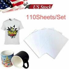 110 Sheetsset A4 Printer Sublimation Paper Heat Transfer For Sublimation Ink Us