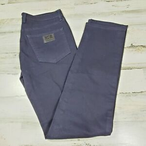 $180 Ice Iceberg Men Jeans Blue W33 L34 New Made In Italy