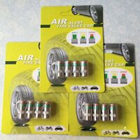 Valve Stem Caps for Car Anti-Theft Tire Pressure Monitor Sensor Indicator F7