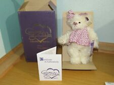New Annette Funicello Collectible Bear Dolly Mohair Jointed