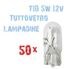 Kit 50 Lampadine Tuttovetro T10 12V 5W per Strumentazione Auto e Moto 2B1B 2B1B-