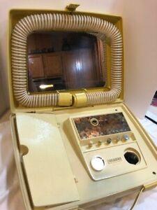 Sears Portable Hair Dryer Vintage Complete Manicure Set Model 8198729
