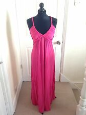 BN BRIGHT PINK MAXI DRESS - ONE SIZE (BOUT 10/12)