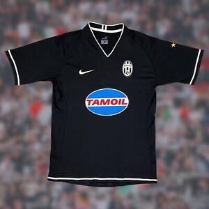 Juventus 2006/07 Away Soccer Jersey Small Nike Serie A Camiseta Shirt Vintage