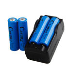 4 x 6000mAh 18650 Battery 3.7v Li-ion Rechargeable Battery + Charger