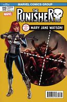 The Punisher #13 Williams Mary Jane Variant Comic Book 2017 - Marvel