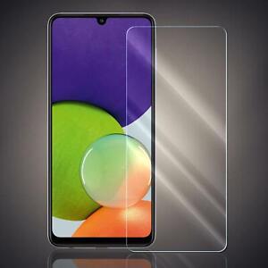 Panzer Folie für Samsung Galaxy A22 Echt Glas Displayschutzfolie Schutz Folie 9H