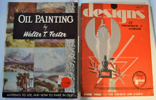 Vintage Walter T. Foster Painting and Design Book by Frederick J. Garner