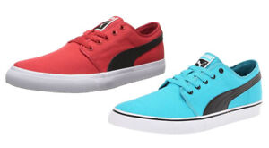 Puma Men's EL Alta Classic Fashion Basic Sneakers Shoes - Red and Blue