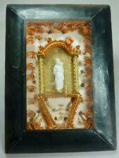 framed shrine relic reliquary cloister work