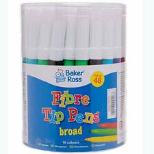 AW346 Chunky Felt Tip Pens Bulk Tub, Markers for Kids Arts and Crafts