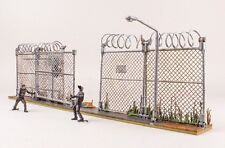 McFarlane Toys The Walking Dead PRISON GATE & FENCE Building Set 192 Pc ~NEW~