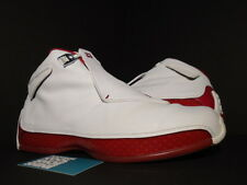 2003 NIKE AIR JORDAN XVIII 18 WHITE VARSITY RED SILVER BLACK 305869-161 11.5
