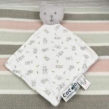 La Redroute Cocoon Grey Bear Comforter Blanket Blankie Soother
