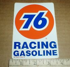 PAIR Union 76 Racing Gasoline retro 1996 New tool box drag racing decal stickers