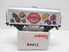 MES-37613Märklin 84413 H0 Kühlwagen Tutti Frutti sehr guter Zustand,mit OVP,