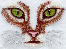 CAT EYES SET OF 2 HAND TOWELS EMBROIDERED