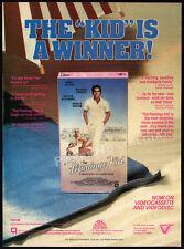 THE FLAMINGO KID__Orig. 1985 print AD / video promo__MATT DILLON_Hector Elizondo