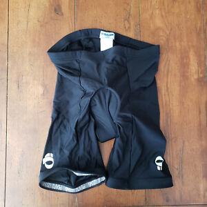 Pearl Izumi Mens Large Cycling Shorts Compression Padded Black L
