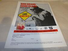 STEVIE WONDER - Publicité de magazine / Advert !!! CHARACTERS !!!