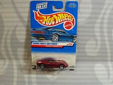 2000 HOT WHEELS  first editions  #072 =  DODGE CHARGER R/T = BURGUNDY , 0910