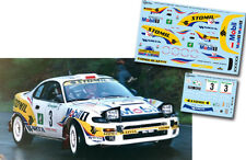 Decal 1:43 Krzysztof Holowczyc - TOYOTA CELICA - Rally El Corte Ingles 1996