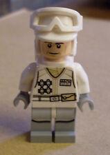 Lego Star Wars Hoth Rebel Trooper White uniforme (personaje sabe gafas) nuevo