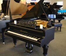 Bosendorfer Antique Grand Piano 1878 6' Satin Ebony Finish Reduced For Sale!