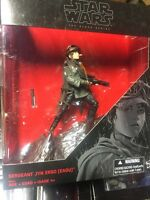 Star Wars Rogue One Sergeant Jyn Erso (Eadu) Black Series K-Mart Exclusive NEW