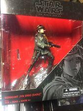 Star Wars Rogue One Sergeant Jyn Erso (Eadu) Black Series K-Mart Exclusive NEW