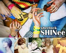 SHINee [Sherlock] CD + Artbook + Photocard + Sticker NEW Sealed K-POP