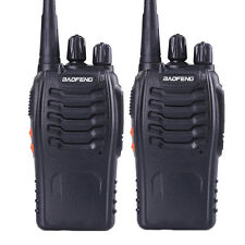 Usa Stock 2pcs Baofeng 888s Uhf 400-470Mhz Ham Radio 16Ch Handheld Walkie Talkie