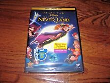 Peter Pan: Return To Never Land Disney(DVD+Digital Copy) NEW,Rare OOP) Fast Ship