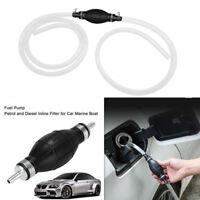 Car Petrol Fuel Line Gas Pump Hose Primer Bulb Steel Hose Clamp Transfer Tool