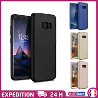 ETUI HOUSSE COQUE INTÉGRALE 3D NEW FULL COVER 360° POUR SAMSUNG GALAXY S8