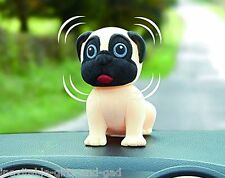 Nodding Pug Dashboard Car Caravan Accessory Pug Dog Gift Cute Pug