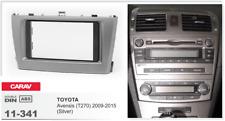 Carav 11-341 2din marco adaptador kit instalacion de radio Toyota Avensis (t270)