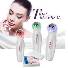 Photon Rejuvenation Color LED Light 3M Ultrasonic Skin Facial massage anti age Y