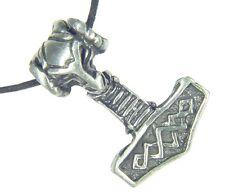 BUTW Thors hammer necklace Norse Mjollnir talisman viking wicca goth  3317D