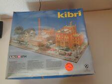 """Kibri H0 9794 Bausatz """"Brauerei"""" mit Figuren (ohne Fahrzeuge!) UNBENUTZT / OVP"""
