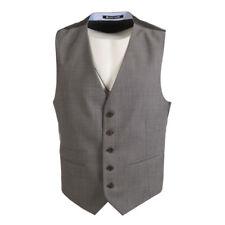 BRUNO SAINT HILAIRE Waistcoat Grey Wool Blend Size 52 / 42R RRP £99 BW 852a